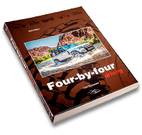 Four-by-four book cover